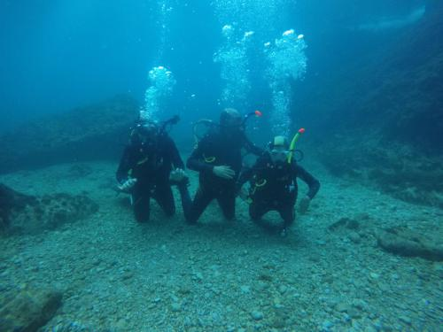 Divers' course